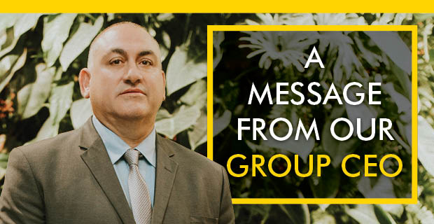 A Message from our Group CEO