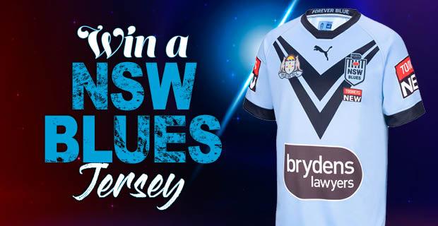 WIN a NSW Blues Jersey