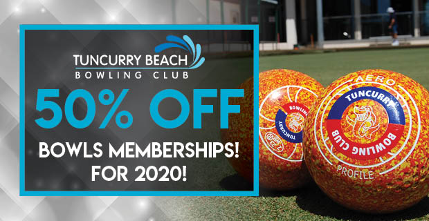 50% OFF Bowls Memberships 2020/21