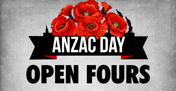 ANZAC Day Open Fours