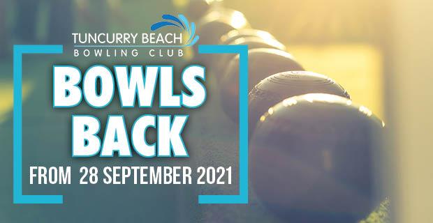 Bowls Returns on 28 September 2021