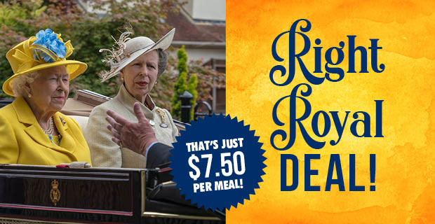 Right Royal $7.50 Meal Deal