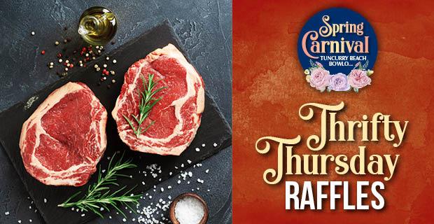 Thrifty Thursday Raffles